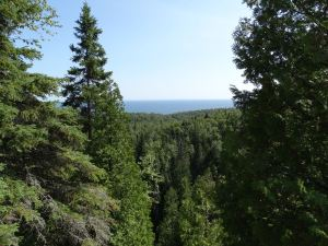 Lake Superior overlook.